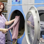 Refurbished dedicated laundry room