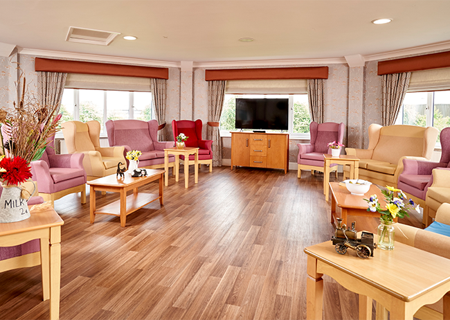 Lounge Area - Meadowfields - Northgate Healthcare