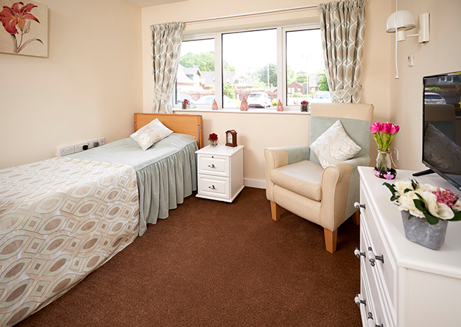 Residential room - Northgate Healthcare